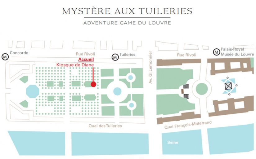 Mysteries At The Garden Of Tuileries